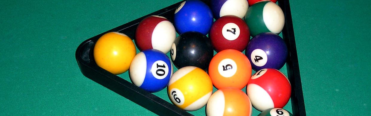rack, pool, pool balls, billiards, ac,